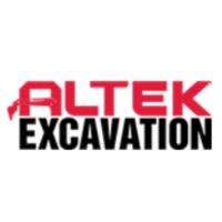 official business logo of Altek Excavation